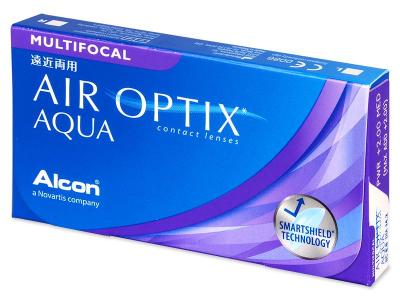 Multifokální kontaktní čočky - Air Optix Aqua Multifocal (3čočky)