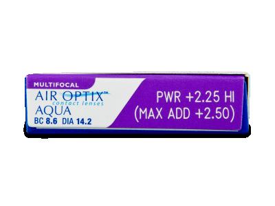 Air Optix Aqua Multifocal (3čočky) -