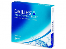 Jednodenní kontaktní čočky - Dailies AquaComfort Plus (90čoček)