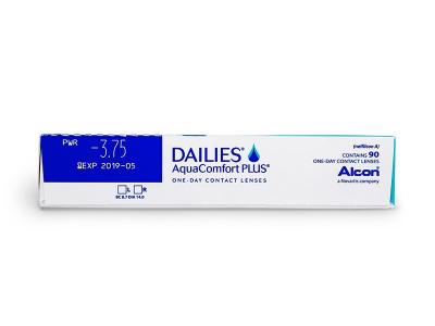 Dailies AquaComfort Plus (90čoček) -