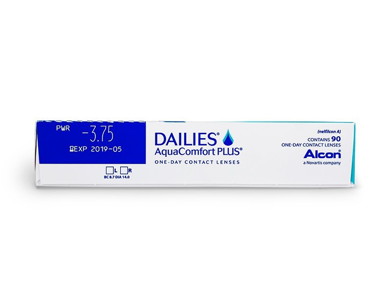 Dailies AquaComfort Plus (90 čoček) -