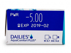 Dailies AquaComfort Plus (30 čoček) -