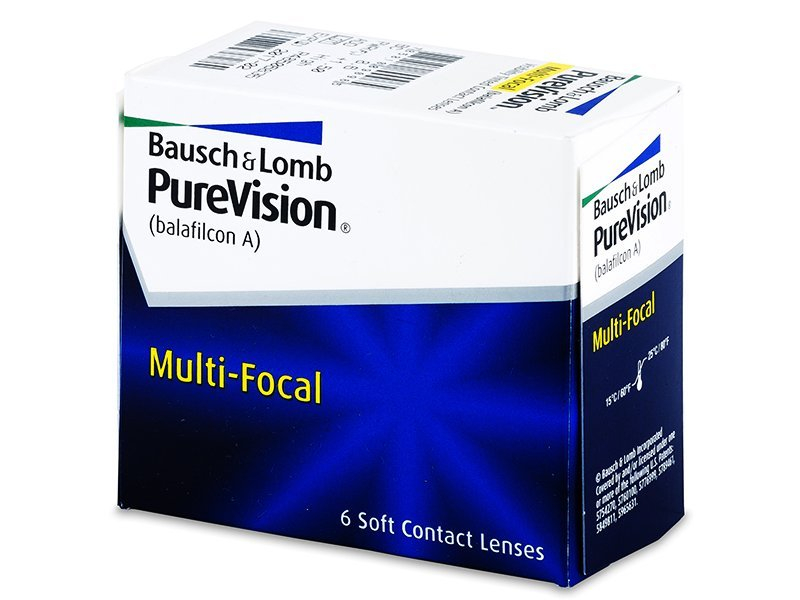 PureVision Multi-Focal (6čoček) - Multifokální kontaktní čočky