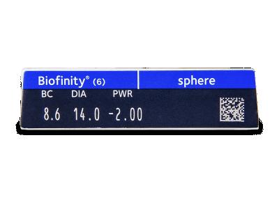 Biofinity (6čoček) -