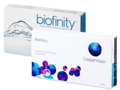 Předchozí design - Biofinity (6čoček)