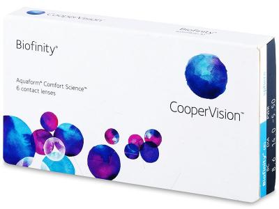 Měsíční kontaktní čočky - Biofinity (6čoček)