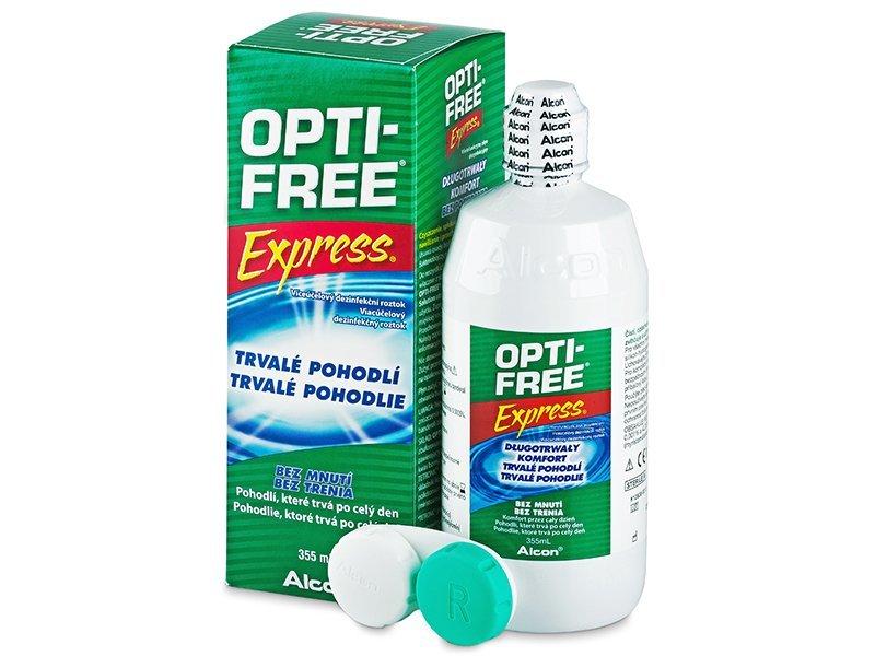 Čistící roztok - Roztok OPTI-FREE Express 355ml