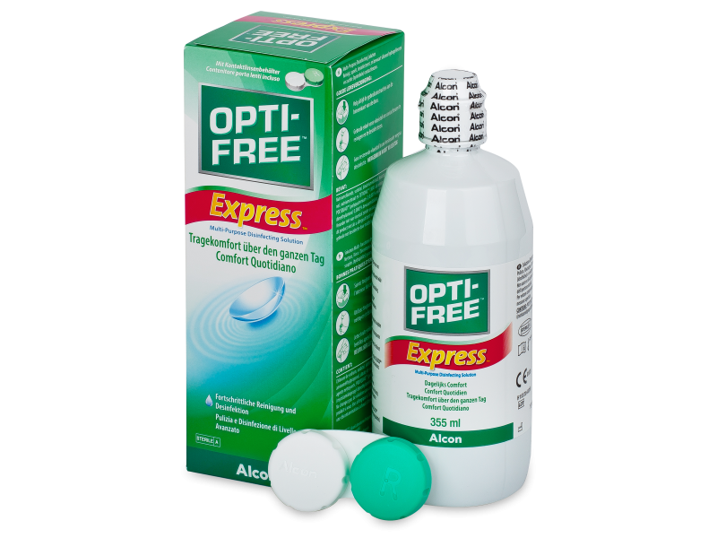 Roztok OPTI-FREE Express 355ml  - Čistící roztok