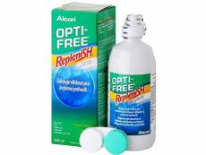 Kontaktní čočky Alcon - Roztok OPTI-FREE RepleniSH 300ml