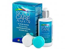 Roztoky na kontaktní čočky - Roztok SoloCare Aqua 90ml