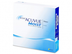 Kontaktní čočky Johnson and Johnson - 1 Day Acuvue Moist (90 čoček)