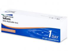 Torické (astigmatické) kontaktní čočky - SofLens Daily Disposable Toric (30čoček)