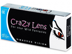 Kontaktní čočky Maxvue Vision - Crazy ColourVUE - dioptrické (2čočky)