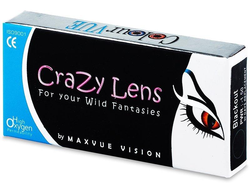 Crazy ColourVUE - dioptrické (2čočky) - Barevné kontaktní čočky