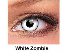 Crazy ColourVUE - dioptrické (2čočky) - White Zombie