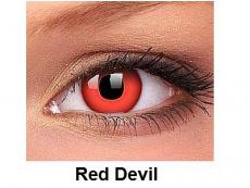 Crazy ColourVUE - dioptrické (2čočky) - Red Devil