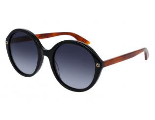 Oválné sluneční brýle - Gucci GG0023S-003