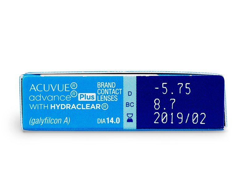 Acuvue Advance PLUS (6 čoček) -