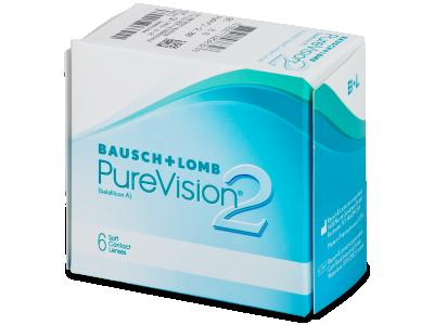 PureVision 2 (6čoček) - Měsíční kontaktní čočky