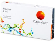 Torické (astigmatické) kontaktní čočky - Proclear Toric (6čoček)