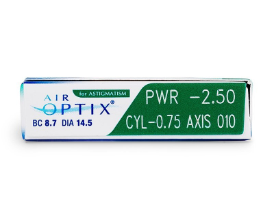 Air Optix for Astigmatism (6 čoček)