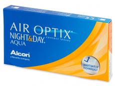 Air Optix Night and Day Aqua (6čoček) - Měsíční kontaktní čočky