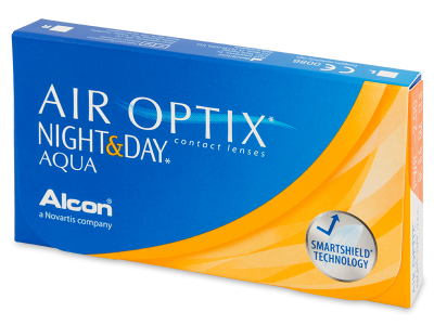 Air Optix Night and Day Aqua (6čoček) - Předchozí design