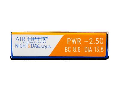 Air Optix Night and Day Aqua (3čočky) -