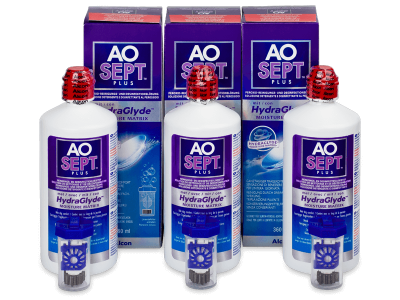 Roztok AO SEPT PLUS HydraGlyde 3 x 360ml